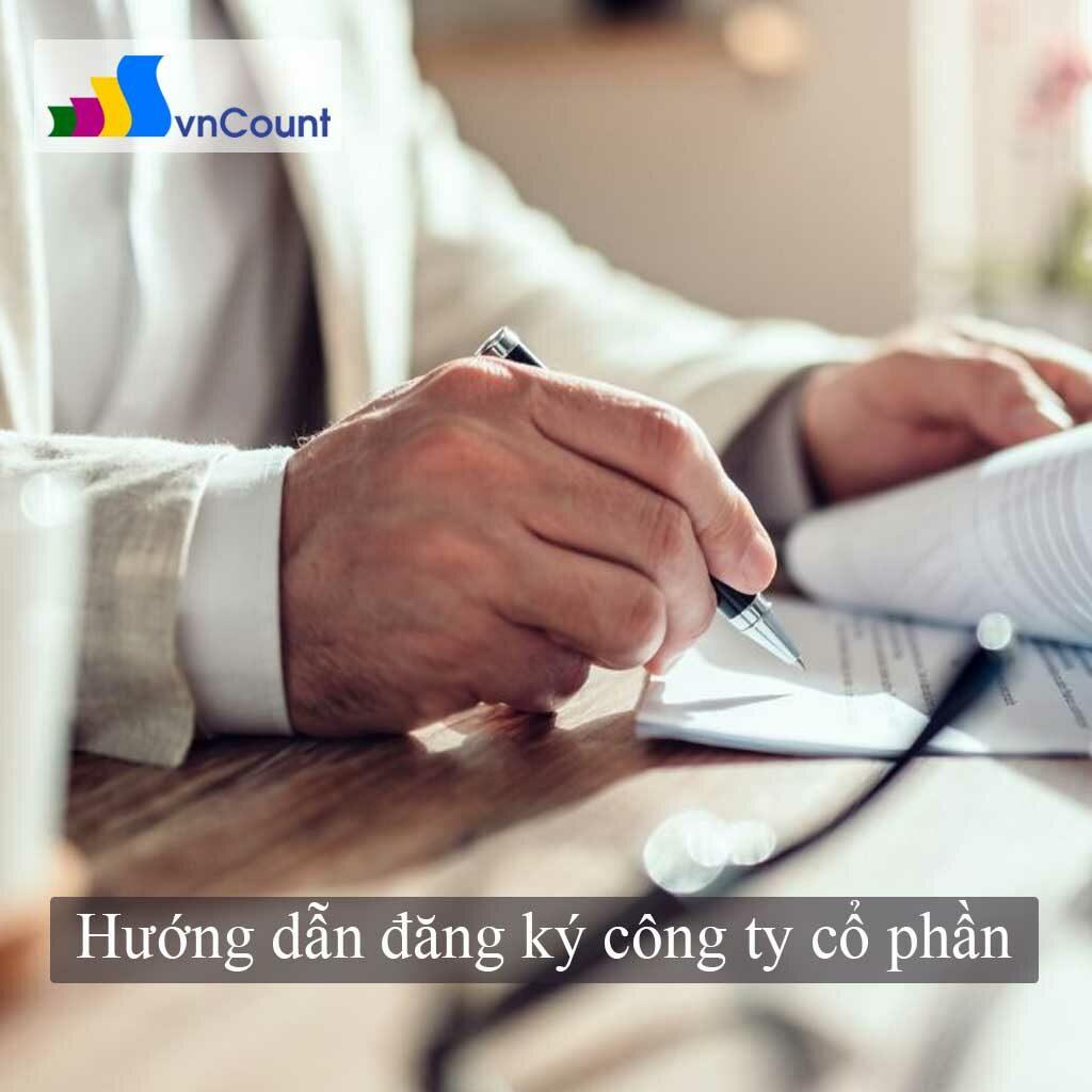 hướng dẫn đăng ký công ty cổ phần
