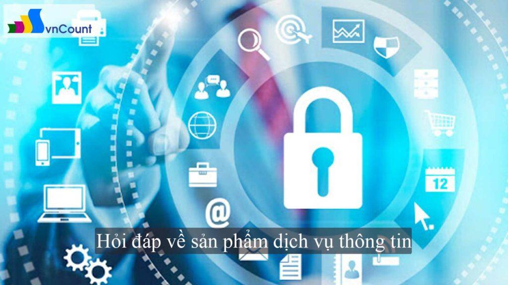 hỏi đáp về sản phẩm dịch vụ thông tin