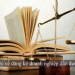 khung pháp lý về đăng ký doanh nghiệp dần được hoàn thiện