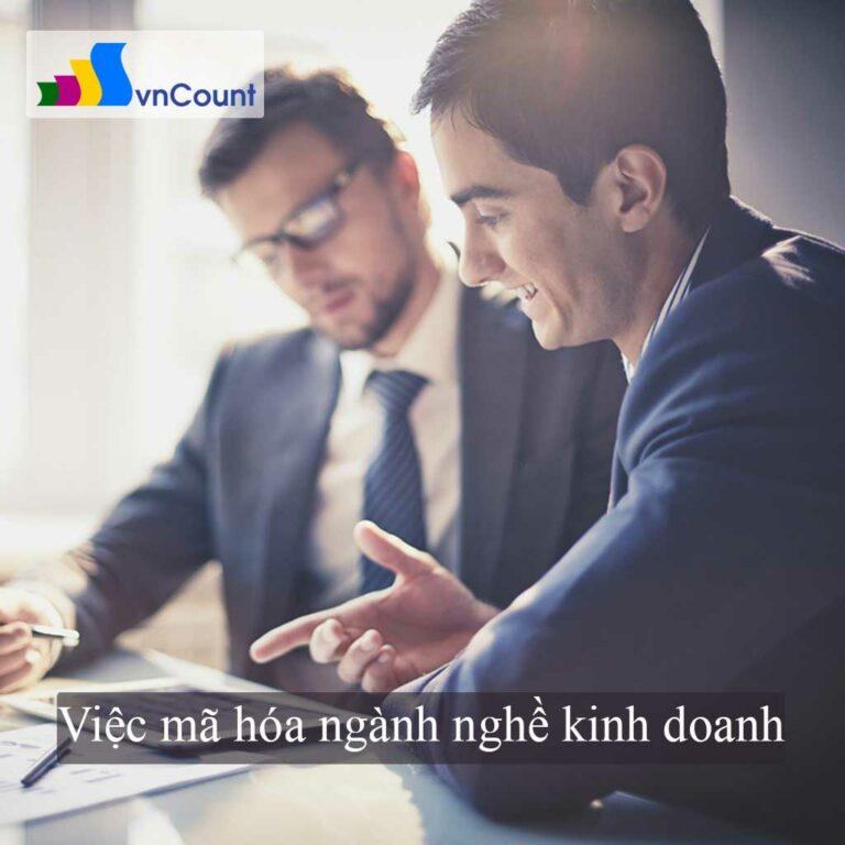 mã hóa ngành nghề kinh doanh
