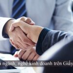 quy định ngành nghề kinh doanh trên giấy chứng nhận đăng ký kinh doanh
