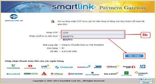 sử dụng hình thức thanh toán trực tuyến trên Cổng thông tin đăng ký doanh
