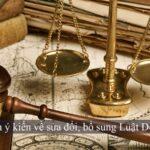 sửa đổi bổ sung luật doanh nghiệp