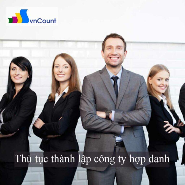 thành lập công ty hợp danh