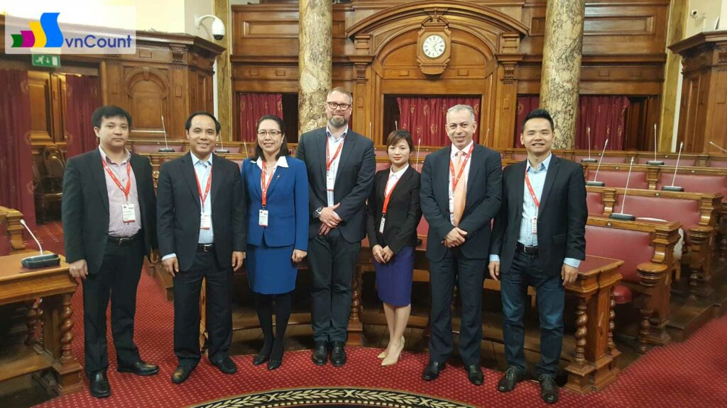 đoàn công tác của Cục Quản lý đăng ký kinh doanh tham dự Hội nghị