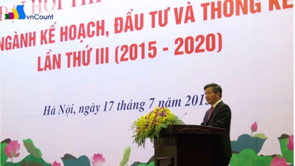 bộ trưởng Bùi Quang Vinh phát biểu tại Đại hội