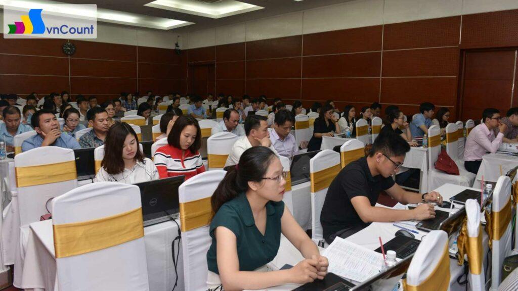 Các đại biểu tham dự Chương trình đào tạo
