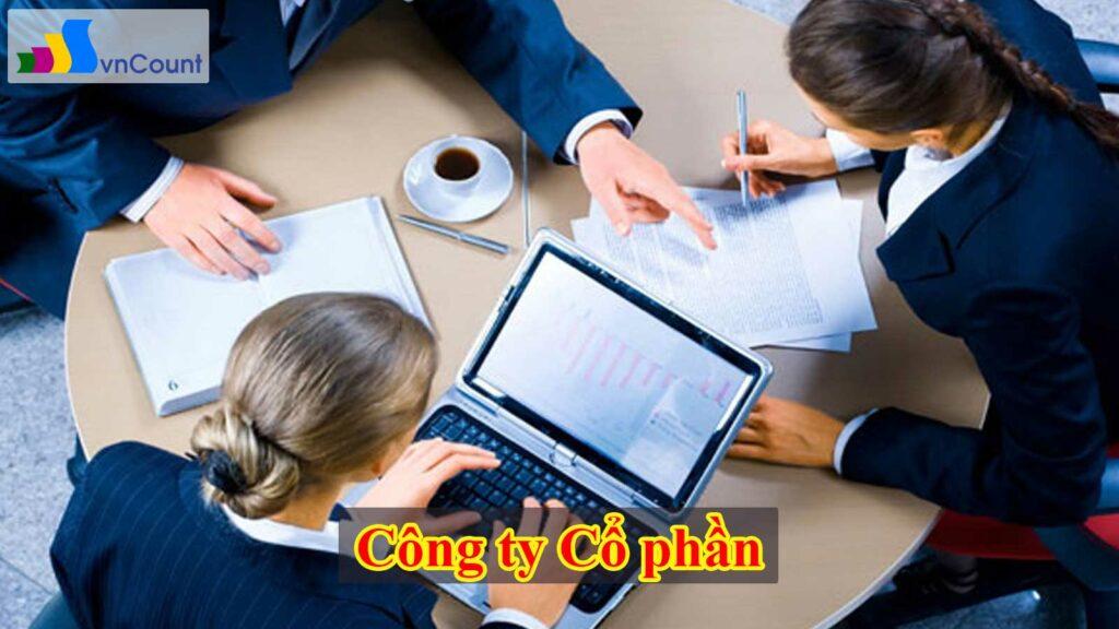 thủ tục đăng ký doanh nghiệp công ty cổ phần