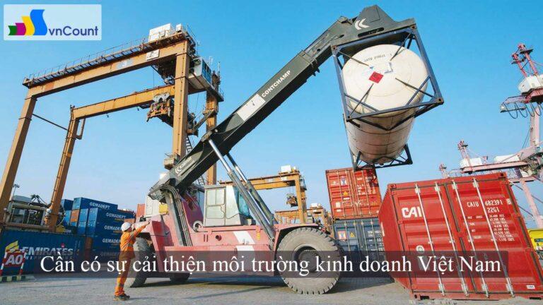 cần có sự cải thiện môi trường kinh doanh Việt Nam