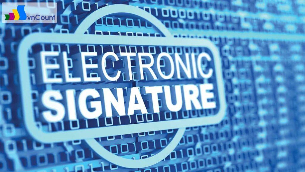 chữ ký điện tử và chứng thư số
