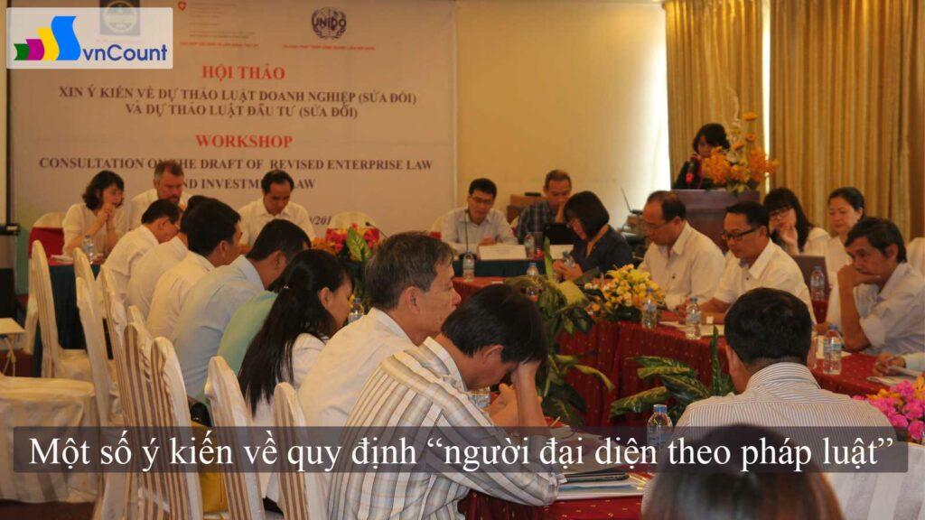 dự thảo luật doanh nghiệp và luật đầu tư sửa đổi