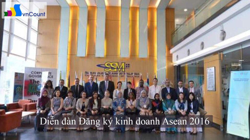 diễn đàn Đăng ký kinh doanh Asean 2016