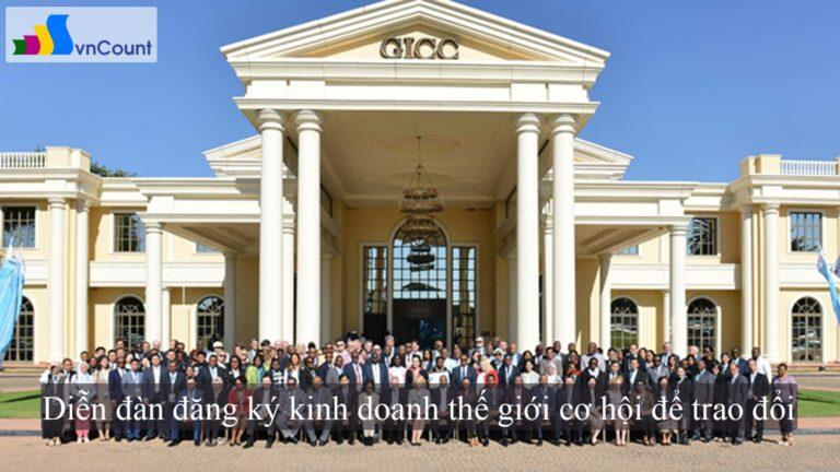 Diễn đàn đăng ký kinh doanh thế giới cơ hội để trao đổi