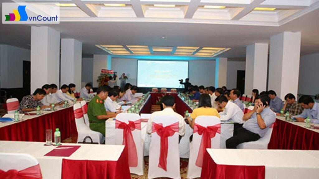 hội nghị giao ban công tác đăng ký kinh doanh