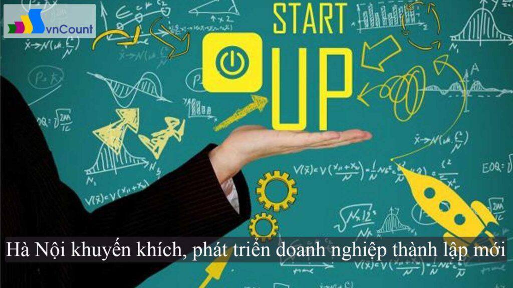 phát triển doanh nghiệp thành lập mới