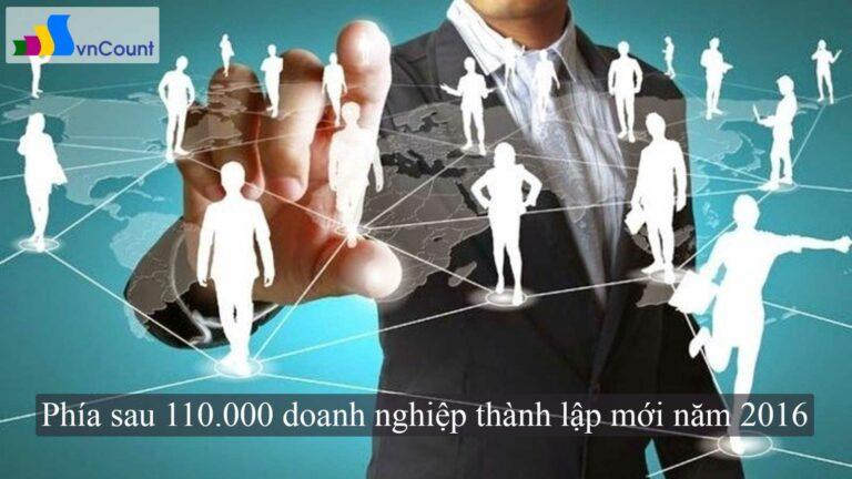 phía sau 110.000 doanh nghiệp thành lập mới năm 2016