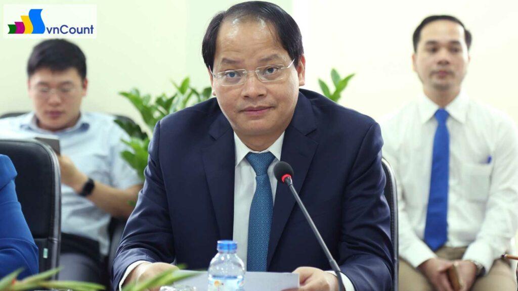 phó Chủ tịch UBND TP. Hà Nội phát biểu tại cuộc họp