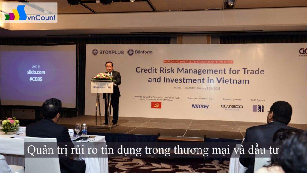 quản trị rủi ro tín dụng trong thương mại và đầu tư