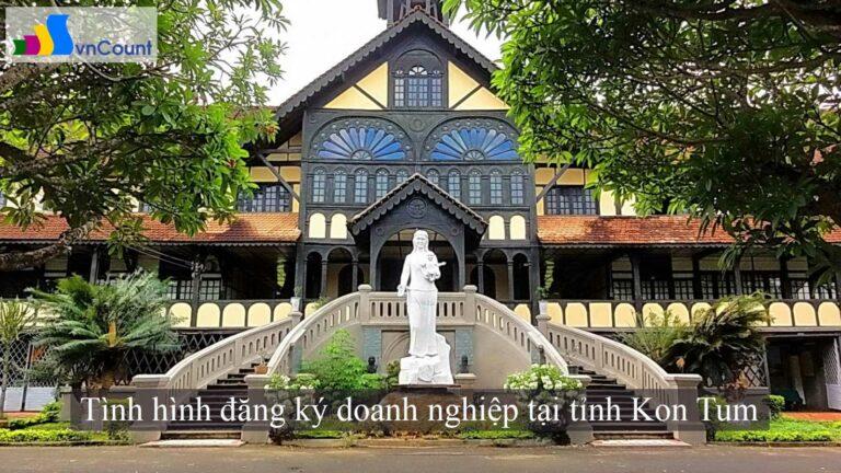 Tình hình đăng ký doanh nghiệp tại tỉnh Kon Tum