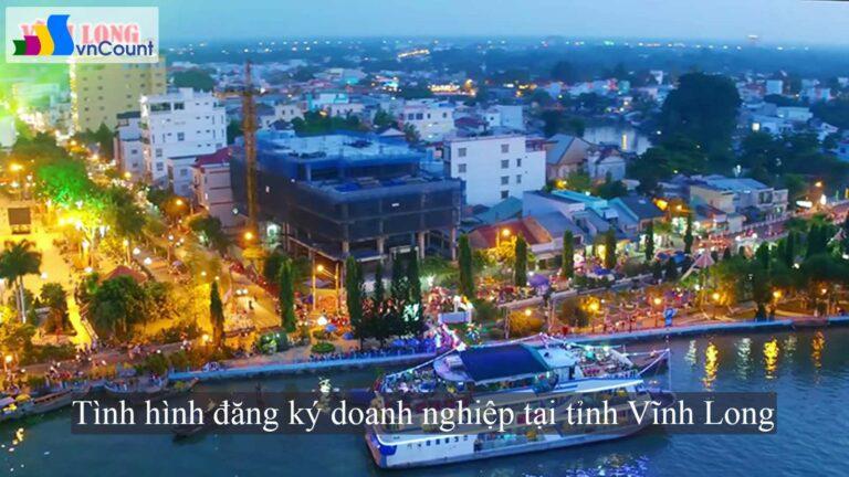 Tình hình đăng ký doanh nghiệp tại tỉnh Vĩnh Long