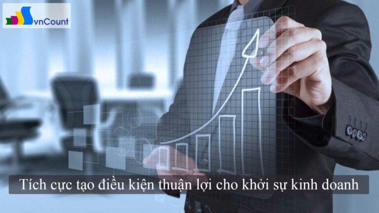 tích cực tạo điều kiện thuận lợi cho khởi sự kinh doanh