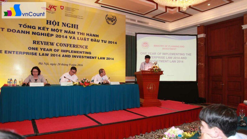 tỉnh Hà Tĩnh chia sẻ kinh nghiệm triển khai của địa phương về luật doanh nghiệp và luật đầu tư