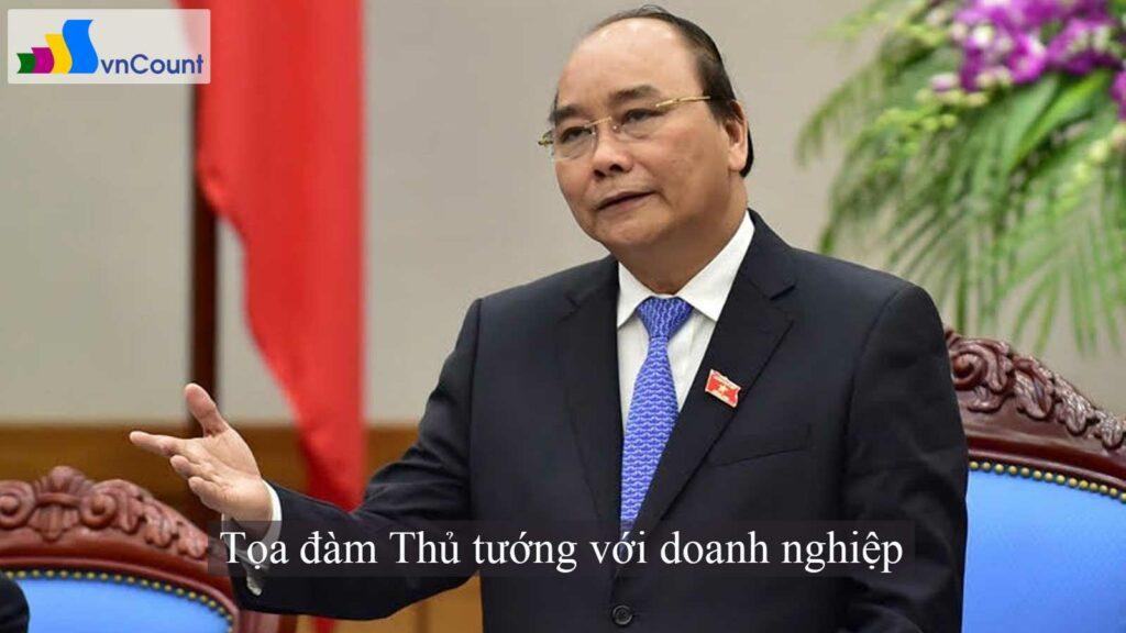 tọa đàm Thủ tướng với doanh nghiệp