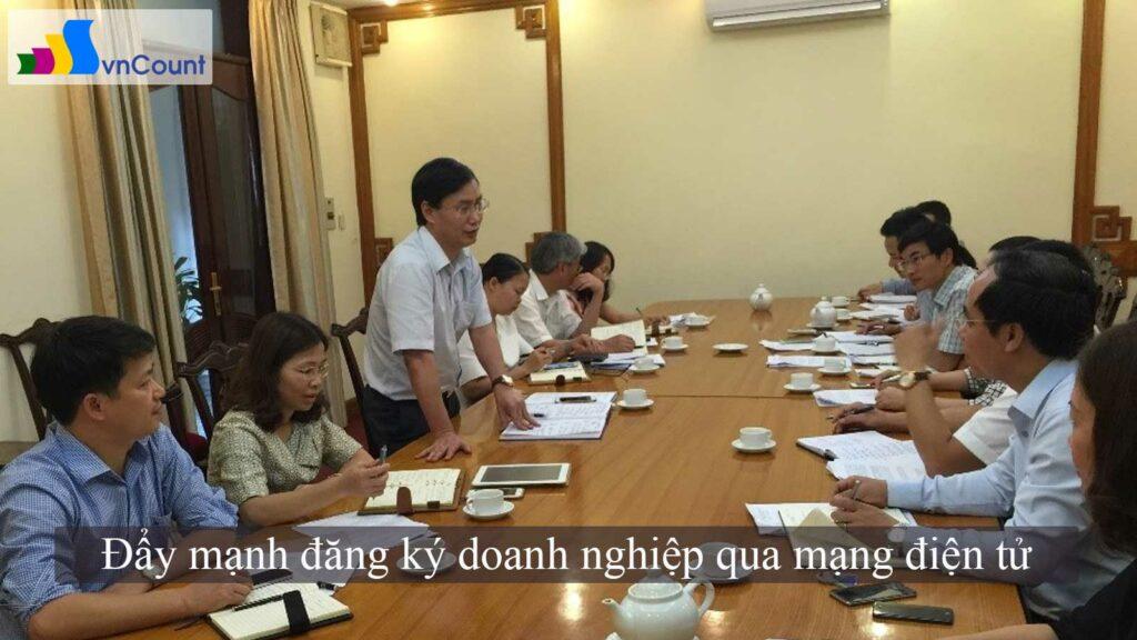 thành phố Hà Nội đẩy mạnh đăng ký doanh nghiệp qua mạng điện tử