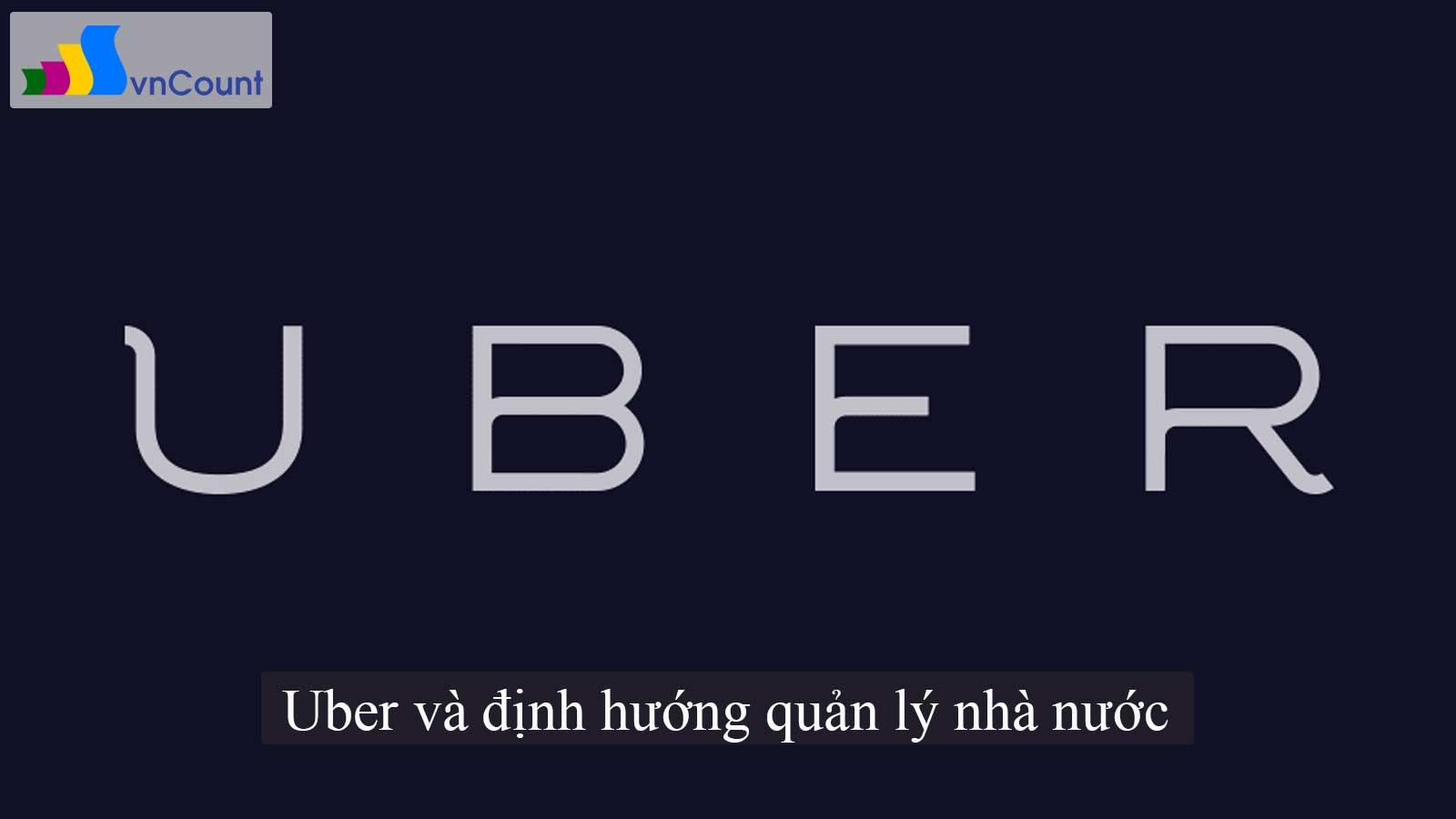Uber và định hướng quản lý nhà nước