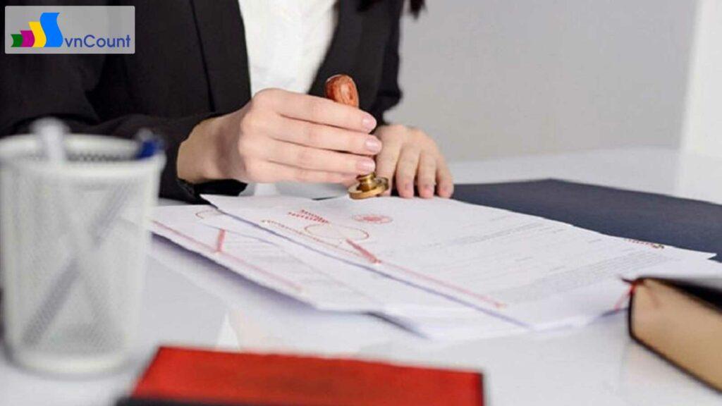 về nội dung Giấy chứng nhận đăng ký doanh nghiệp