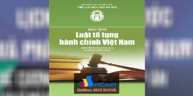 Luật Tố tụng hành chính Việt Nam EL34 EHOU