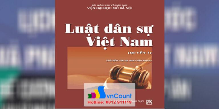 Luật dân sự Việt Nam 1 EL12 EHOU