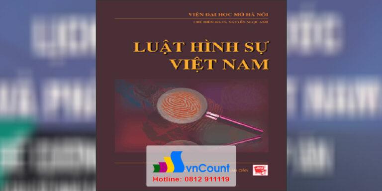 Luật hình sự Việt Nam 1 - EL10 - EHOU