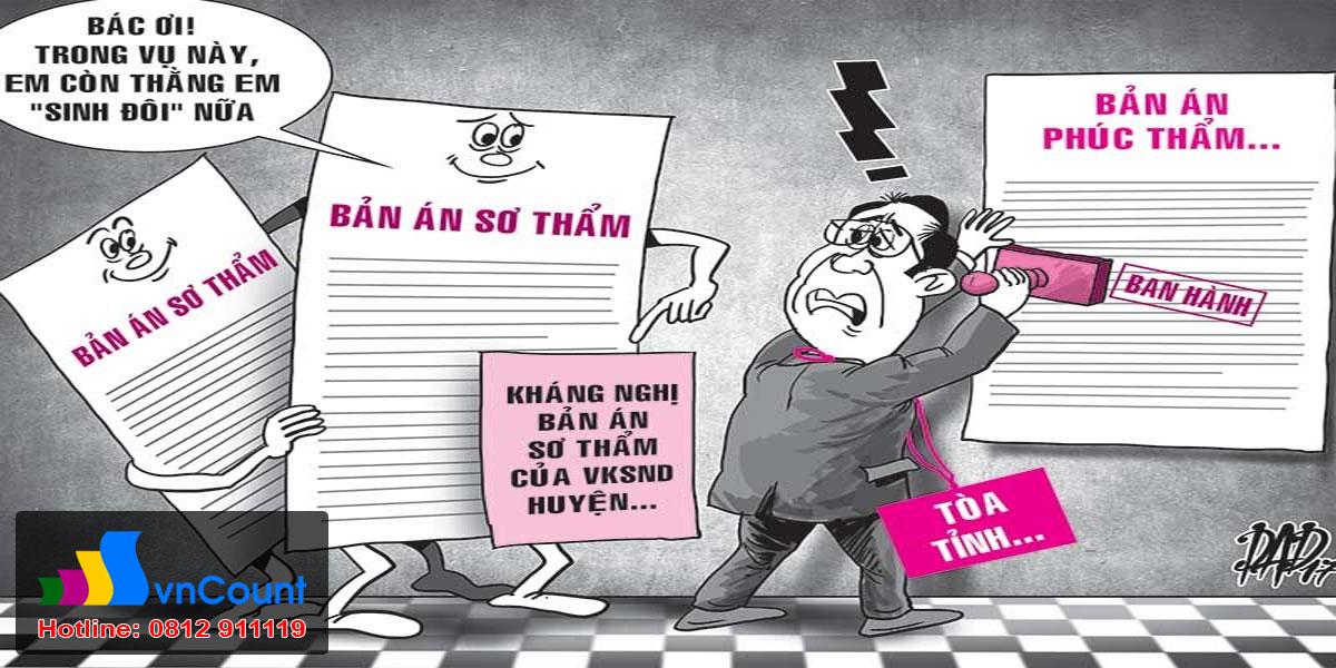 kháng cáo kháng nghị bản án dân sự