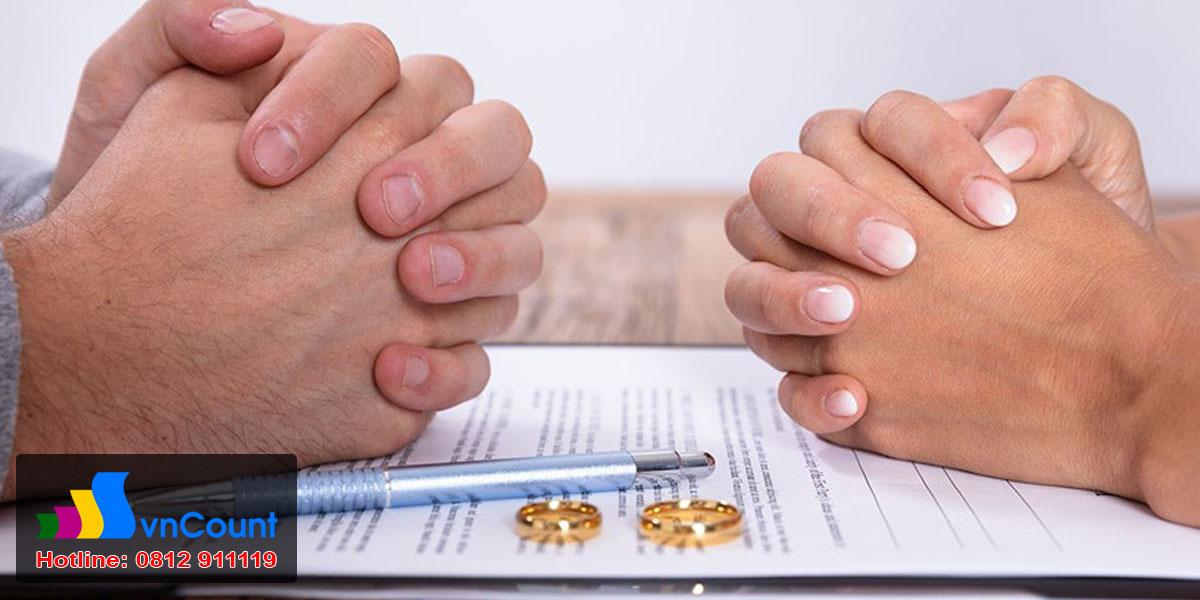 yêu cầu công nhận thuận tình ly hôn