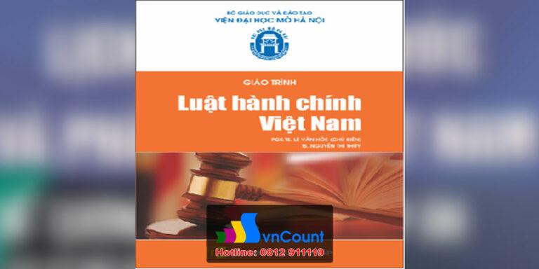 Luật Hành chính Việt Nam EL09 EHOU