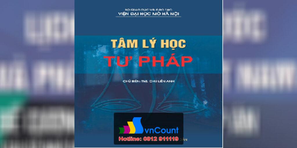 Tâm lý học tư pháp-EL16-EHOU