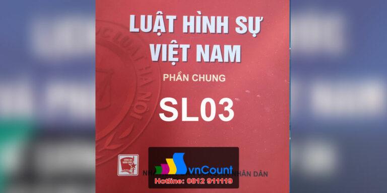 Luật Hình sự Việt Nam 2- SL03 - EHOU