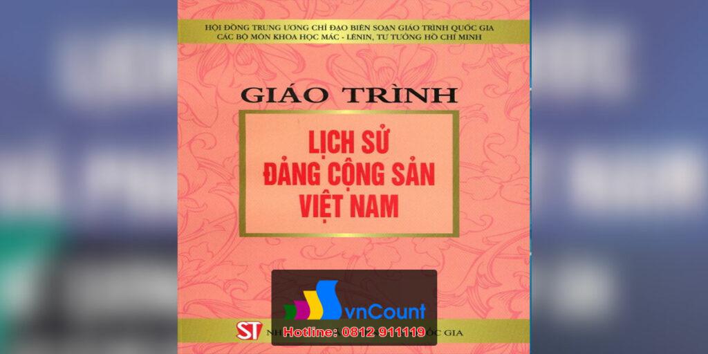 Lịch sử Đảng Cộng sản Việt Nam EG45 EHOU